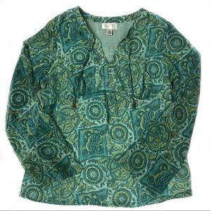 LOFT Ann Taylor Hobo style shirt